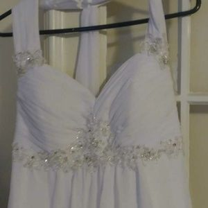 elegant wedding dress size 6